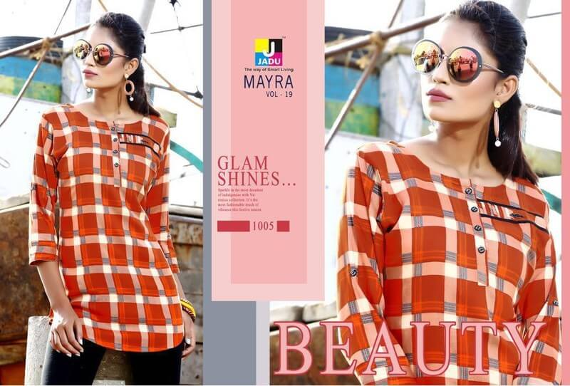 Jadu Myra Vol 19 Shirt Catalog