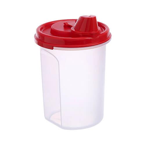 Tupperware Magic Flow Plus Plastic Oil Dispenser, 440ml, Multicolour