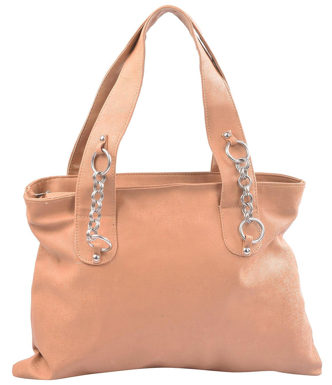 Ladyqueen Girls Handbag (Tan, SH_1792)