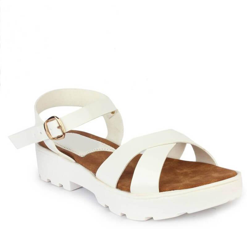 Synthetic Leather Pvc Women Sandal