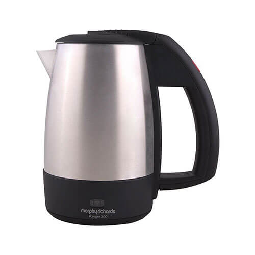 Morphy Richards Voyager 300 0.5 L Electric Kettle Silver & Black