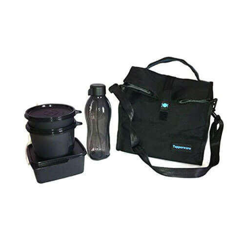 Tupperware New Satchel Lunch Set With Lunch Bag