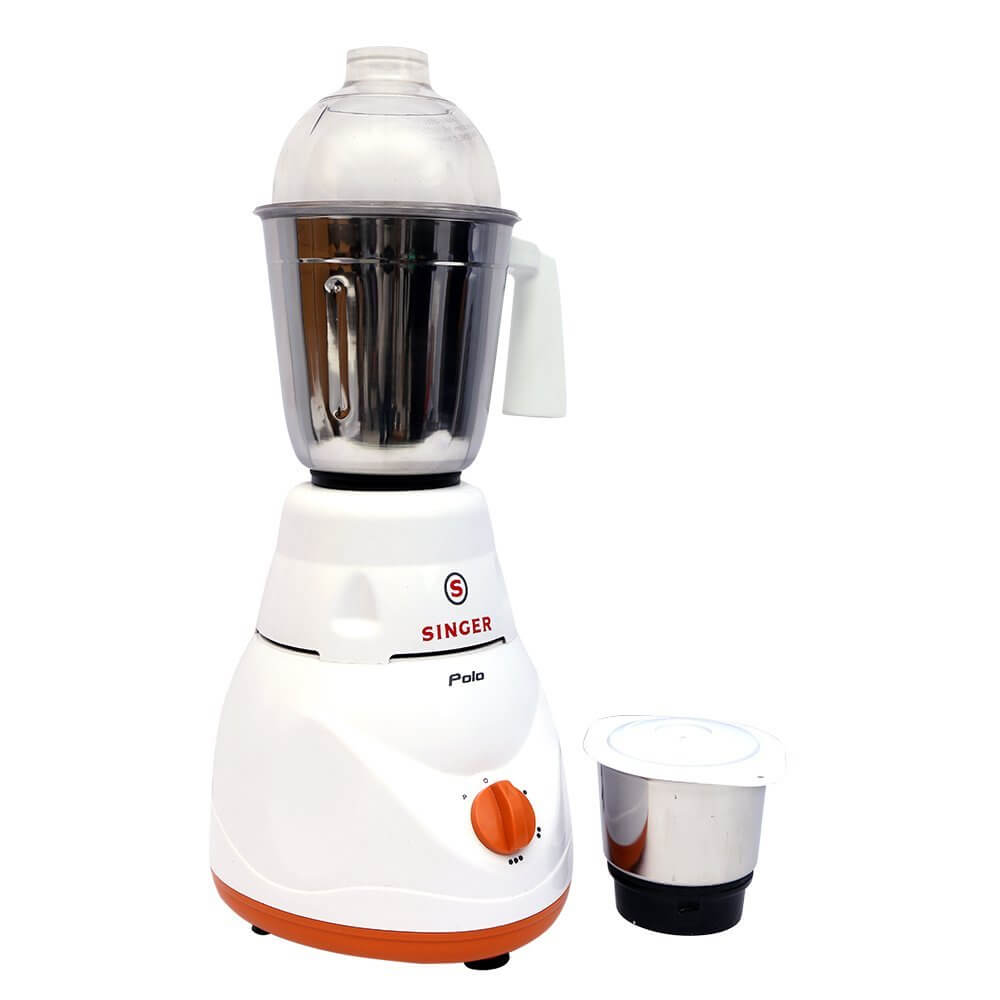 Singer Polo 500-Watt Mixer Grinder White