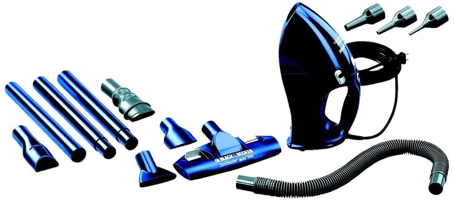 Black & Decker VH780 780-Watt Multi-Use Vacuum and Blower Dark Blue