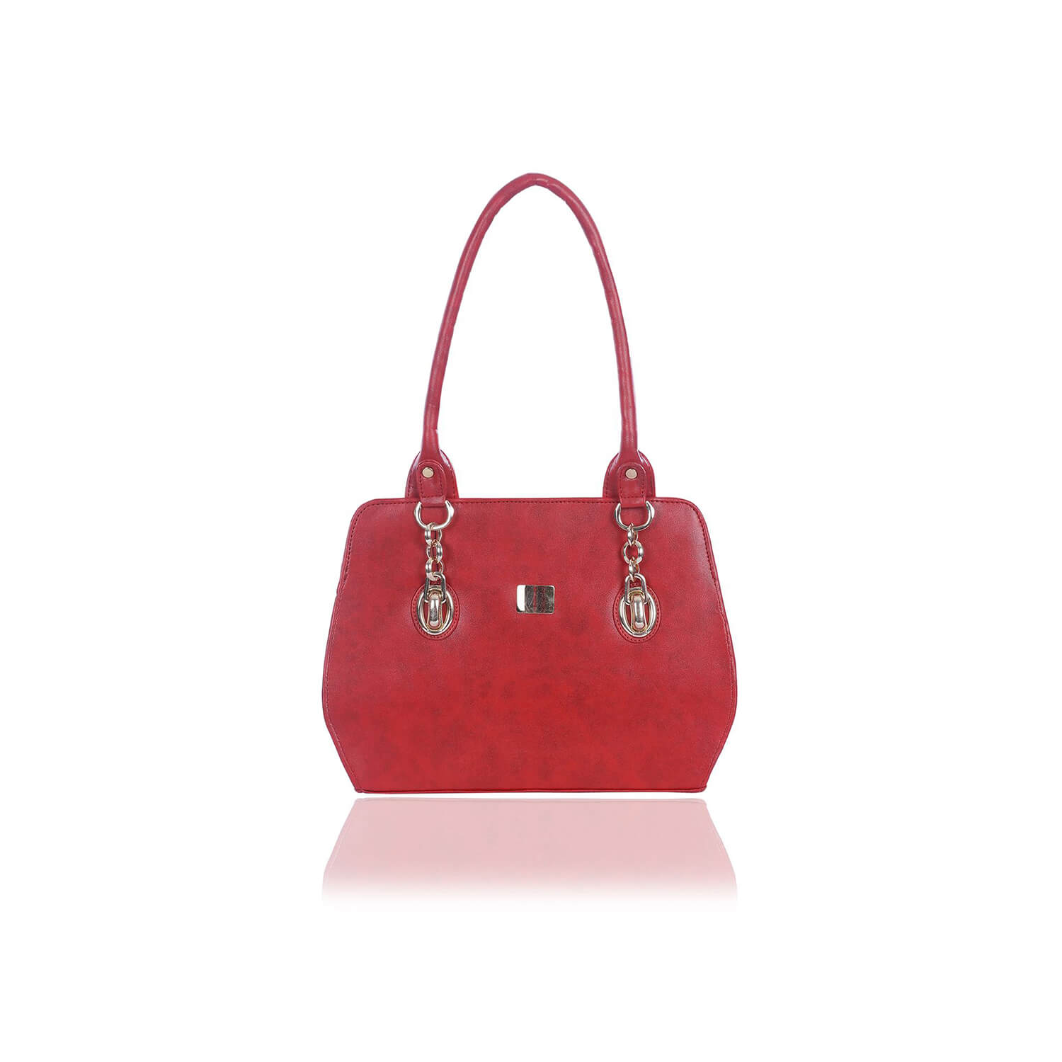 Right Choice RCH259 Stylish Dignified Red Women's Handbag