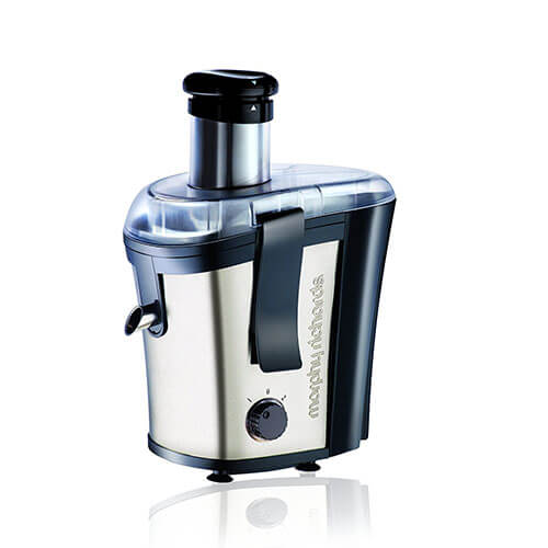 Morphy Richards Juice Xpress 700 W Juicer Black & Silver/1 Jar