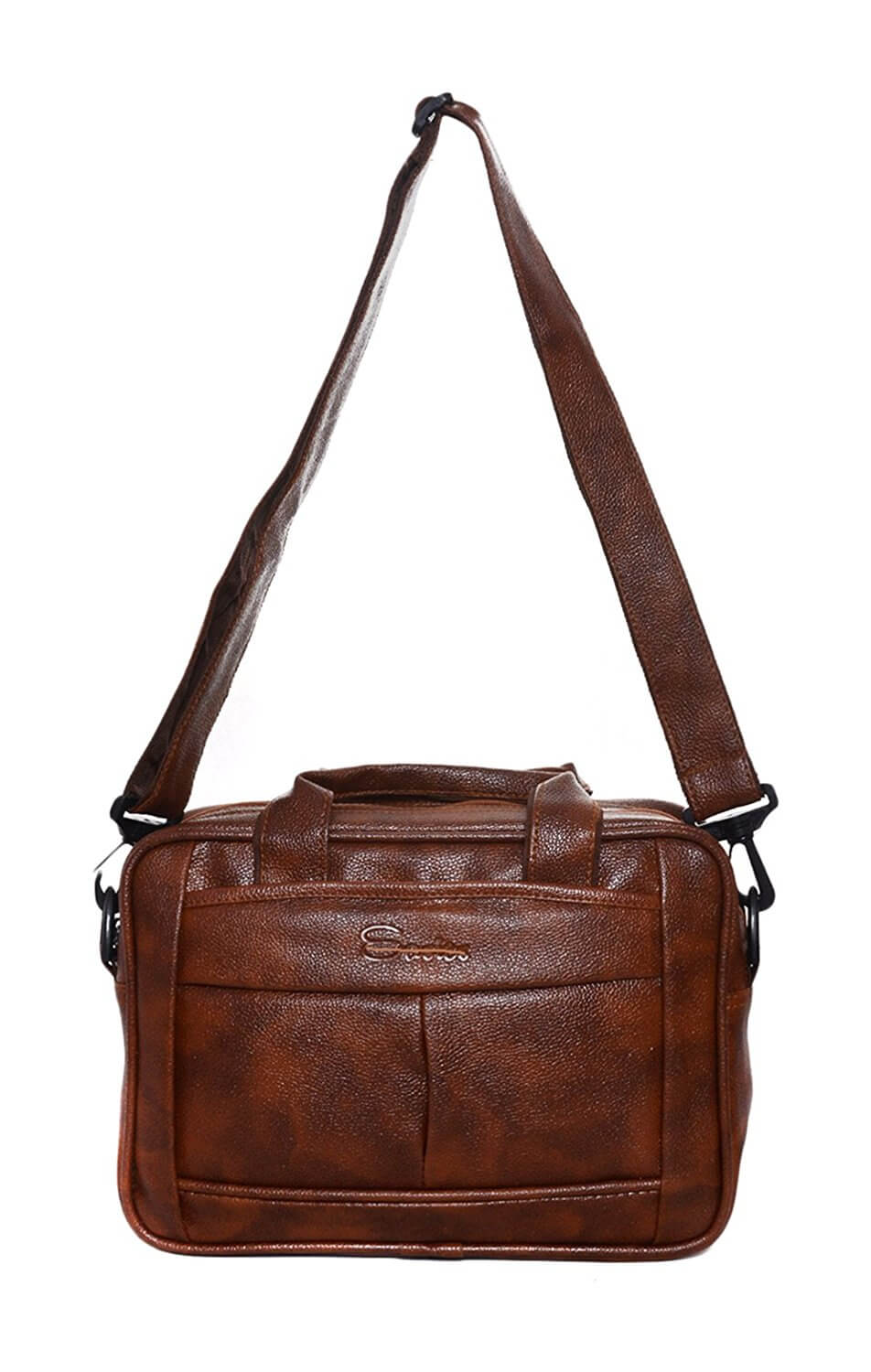 Rehan's Leather 25 Liters Brown Messenger Bag