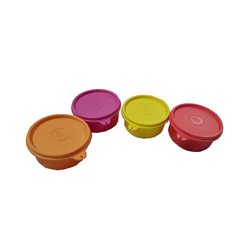 Tupperware Tropical Plastic Container Set, 230ml, Set of 4, Multicolour (TUP_B018LYIUIU)