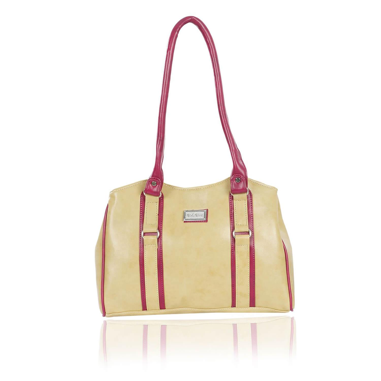 Right Choice RCH298 trendy,smart Beige women's handbags