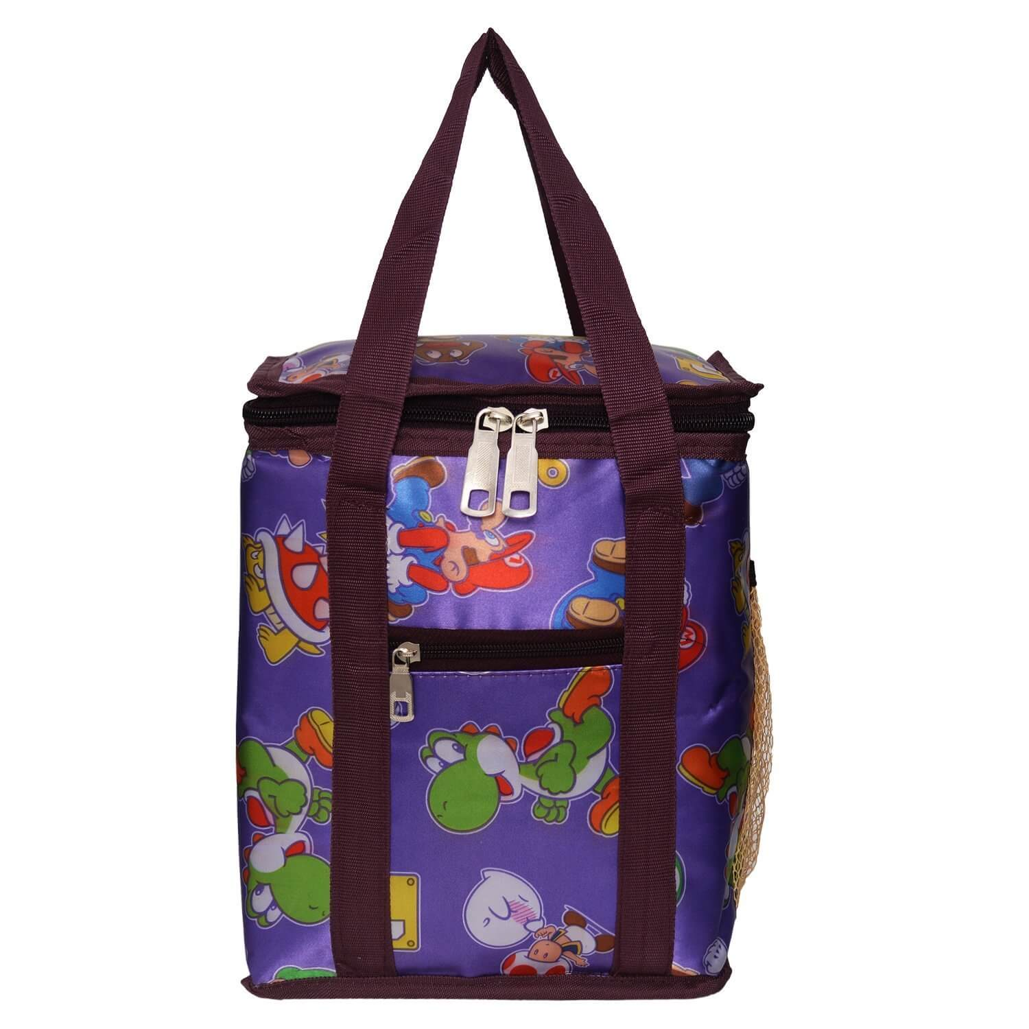 Right Choice School tiffin bags Lunch,Box,Bag,purple multi