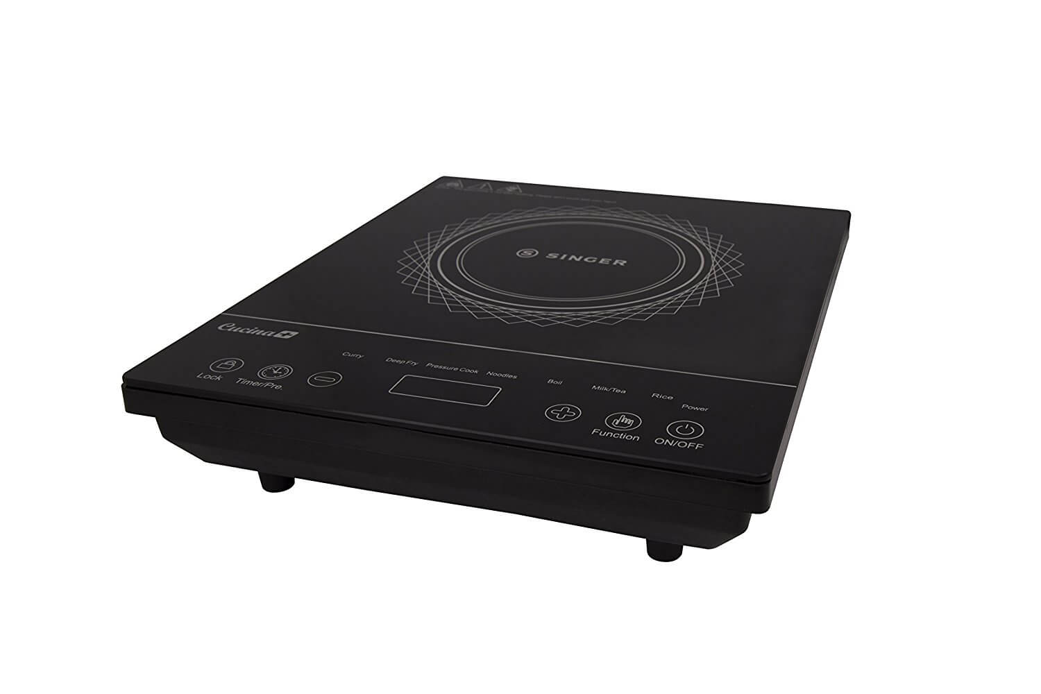 Singer 1600 W Cucina Plus Feather Touch Induction Cooker