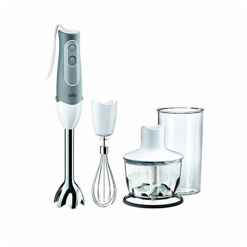 Braun Multiquick MQ535 750 W Hand Blender White & Grey
