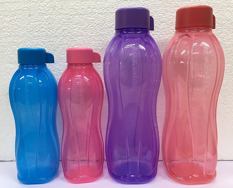 Tupperware 500ml and 1ltr water bottles combo, 500ml- 2pcs, 1ltr-2pcs