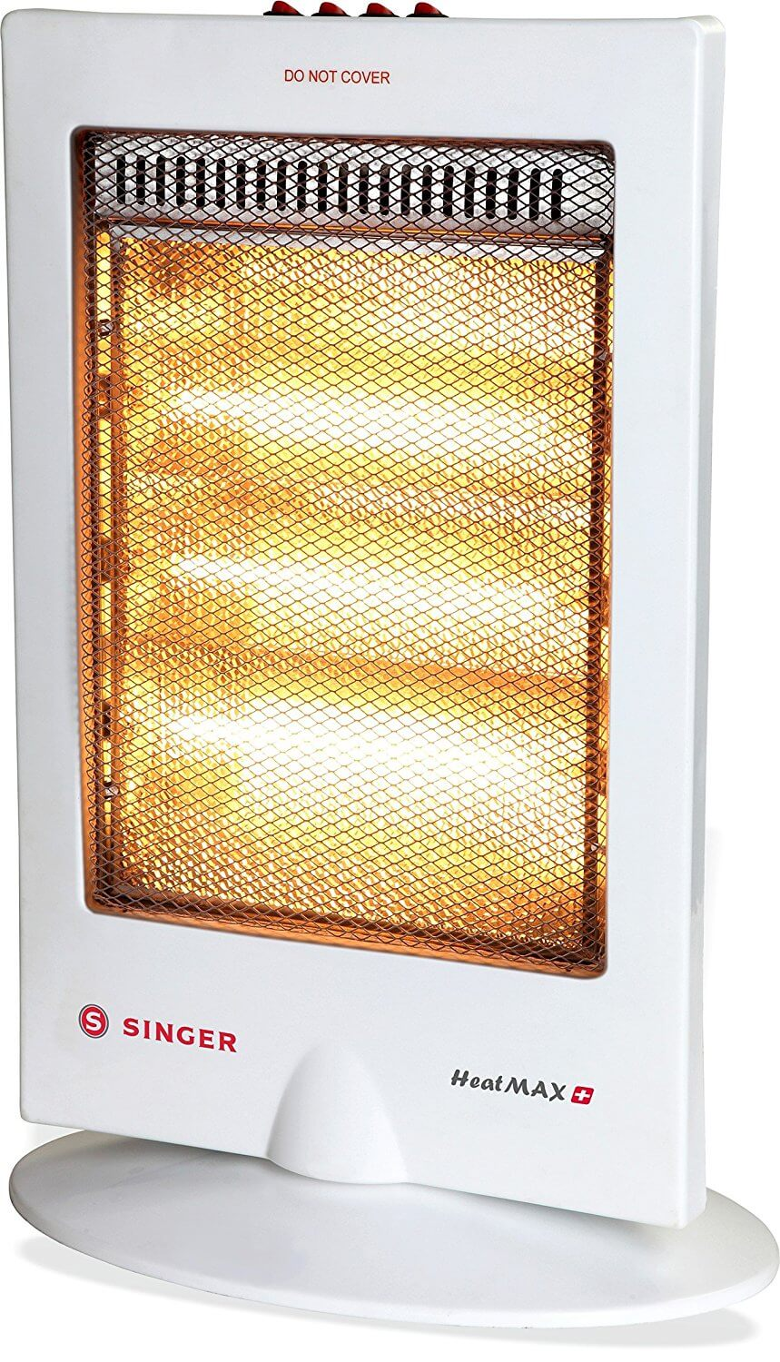 Singer Heatmax Plus 1200 Watts 3 Rod Halogen Heater