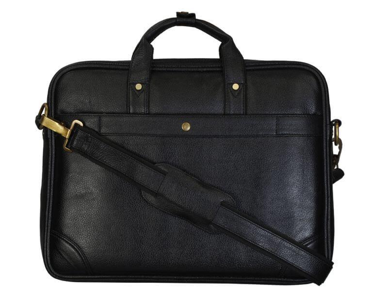 Right Choice Black Color Laptop Messenger Bag