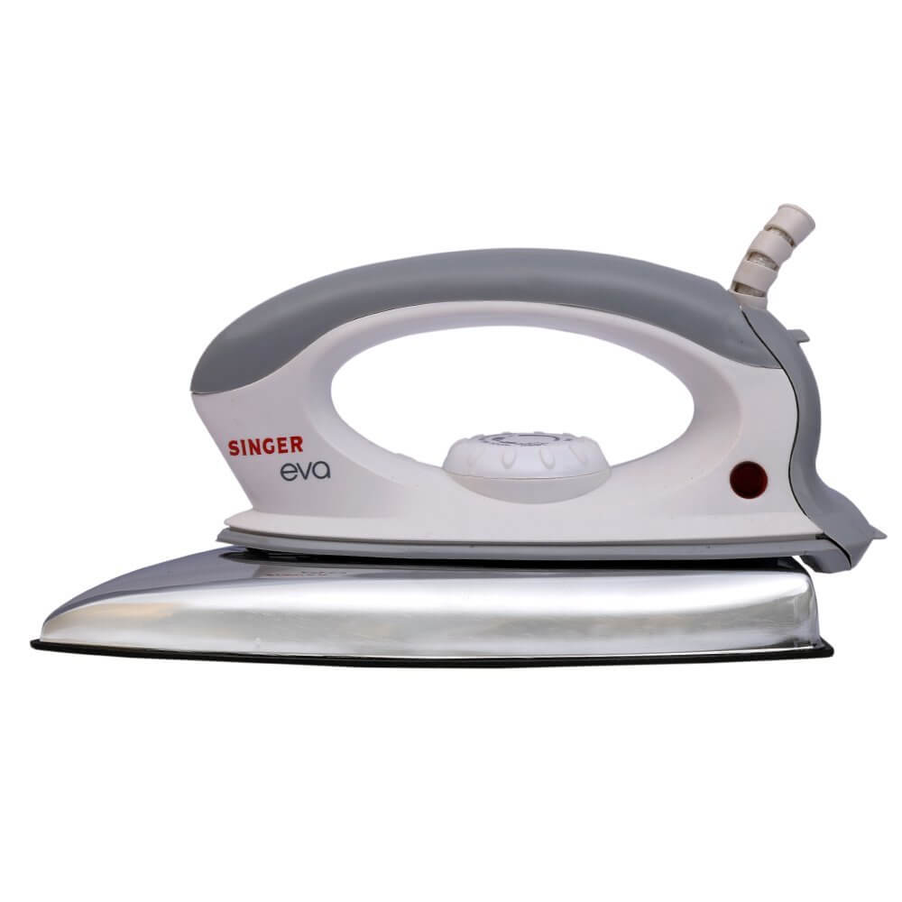 Singer Eva 1000- Watt Dry Iron White