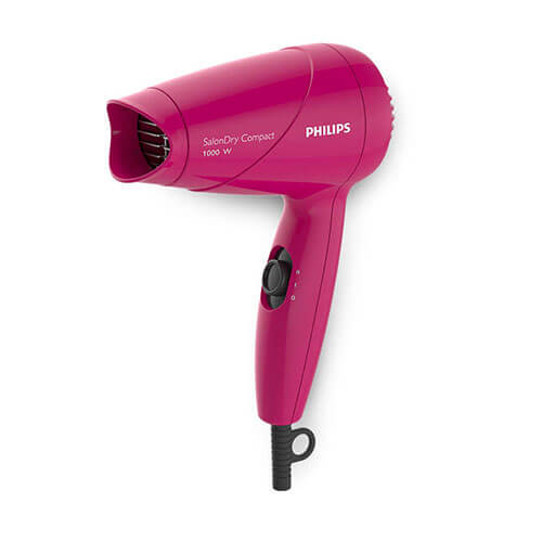 Philips SalonDry Compact HP8141/00 Hair Dryer For Women Pink