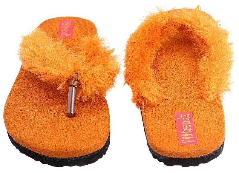 Synthetic Rubber Women Flats