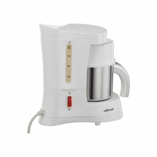 Preethi CM 212 450-Watt Cafe Zest Coffee Maker White