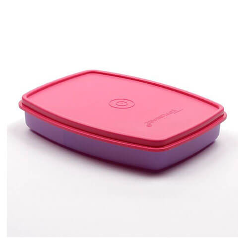 Tupperware Small Slim 1 Containers Lunch Box