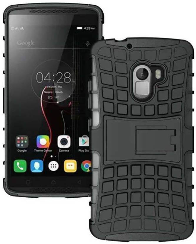 Nutricase Back Cover for Lenovo K4 Note (Black, Shock Proof, Rubber)