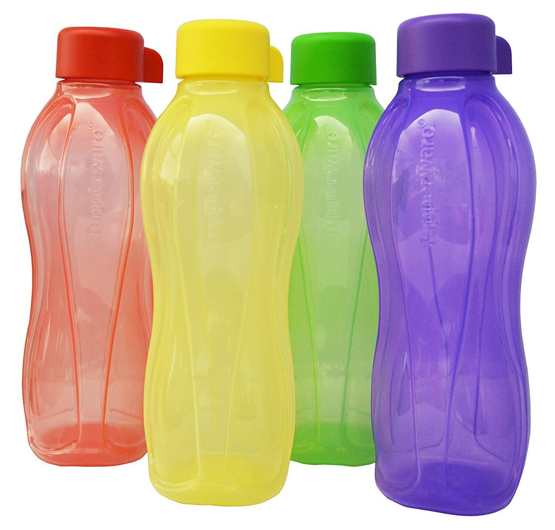 Tupperware 500 Ml Water Bottle 4*500 Ml