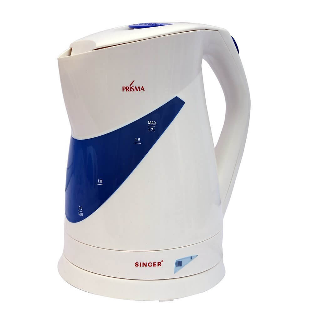 Singer Bistro 1.7 litres 2000-watt Electric Kettle White
