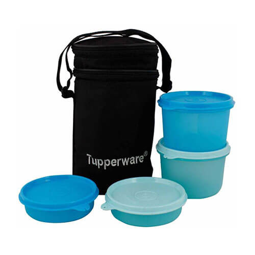 Tupperware Lunch Box Set 4 Containers Lunch Box  (1250 ml)