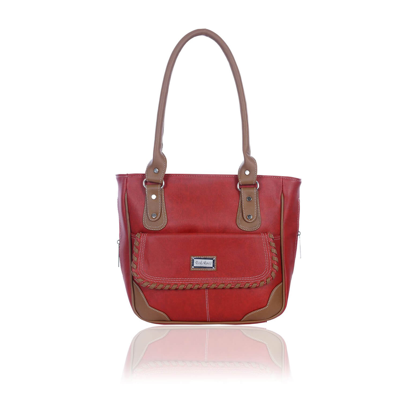 Right Choice RCH275 Maroon Stylish handbags for women's