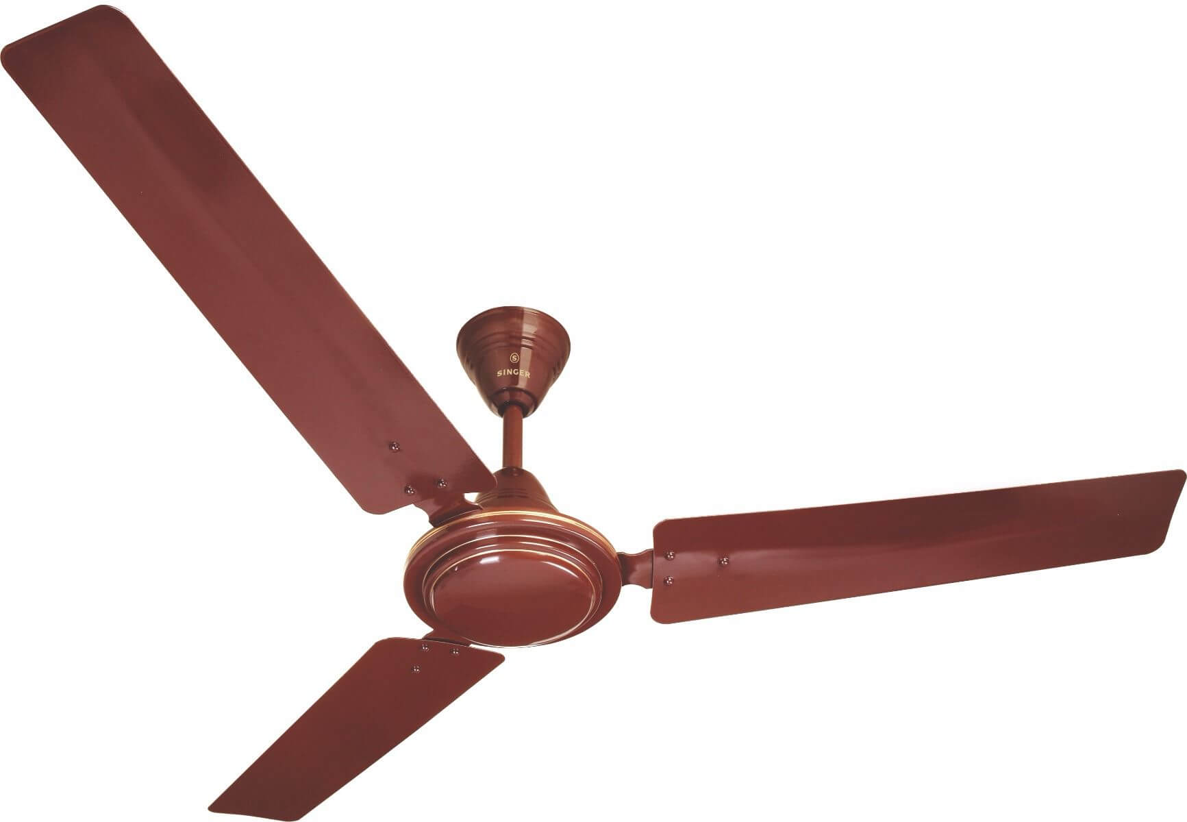 Singer Aerostar Efficient Ceiling Fan Brown
