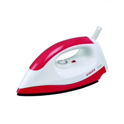 Singer Auro 750-Watt Dry Iron (Red)