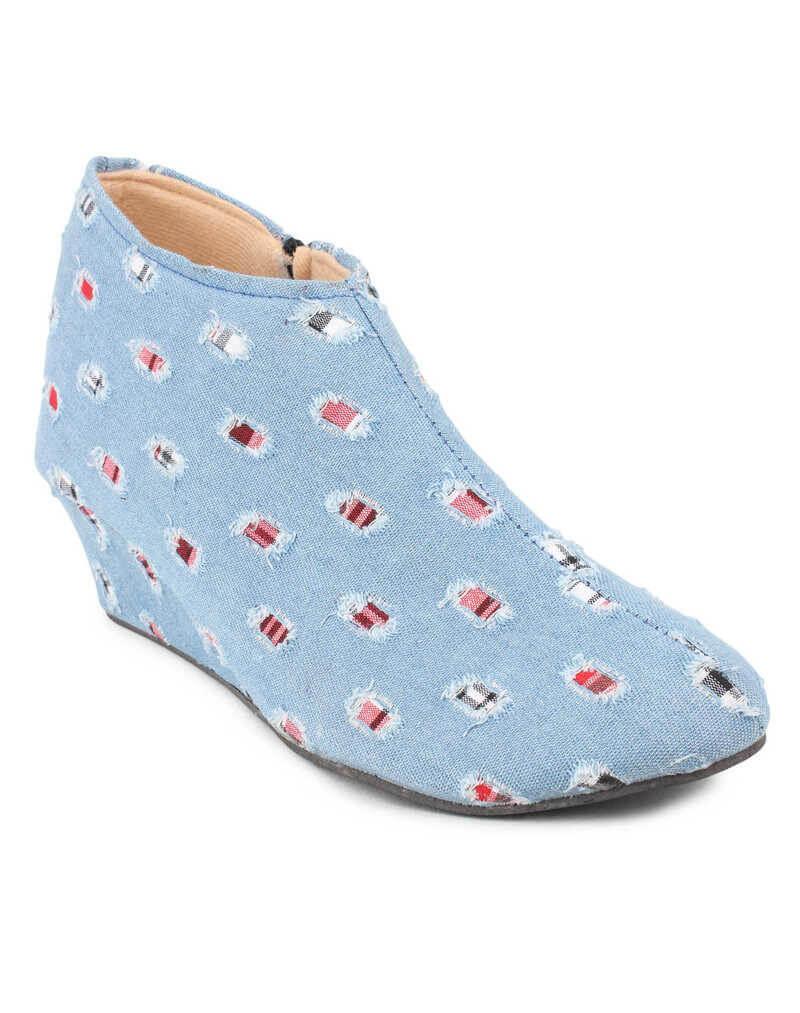 CATT Brand Denim Sheet Women Boots
