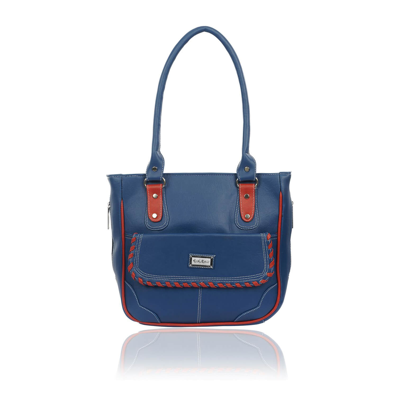 Right Choice RCH276 trendy,smart blue women's handbags