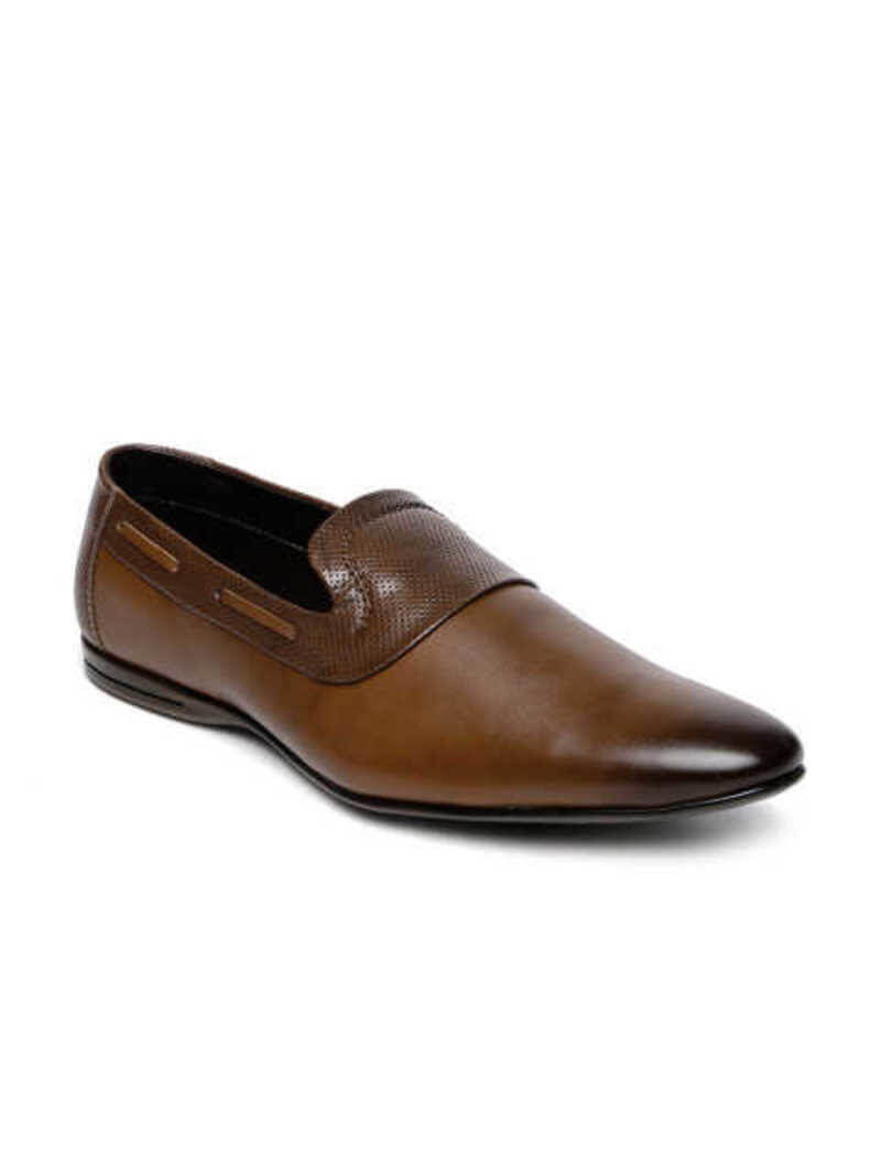 San Frissco Synthetic Pu Men Slip On Formal Shoes