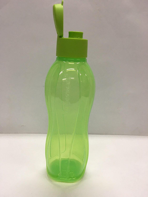 TUPPERWARE 1litre fliptop water bottle, 1piece, GREEN colour