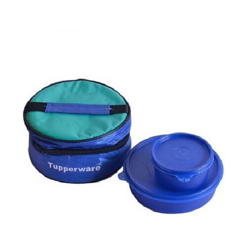 Tupperware 2 Piece container with bag - 580 ml Plastic Food Storage  (Pack of 2, Violet)