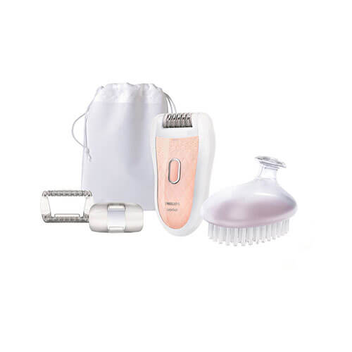 Philips HP6519 Epilator For Women White & Orange