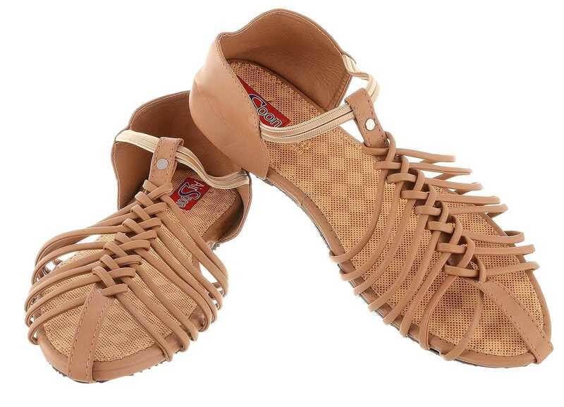Pvc Synthetic Leather Women Sandal