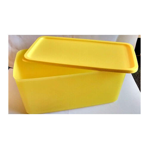 Tupperware 3.1 liter Smart n fresh container (yellow colour) (1)