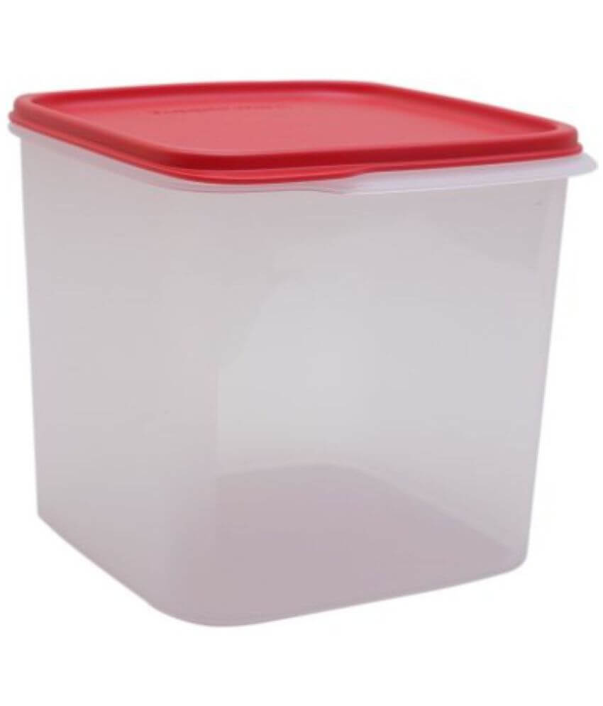 Tupperware Square Smart Saver Container, 3.9 Litres, Color May Vary