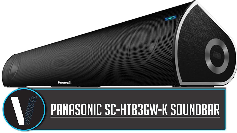 Panasonic Sc-Htb3Gw-K Bluetooth Speakers Black