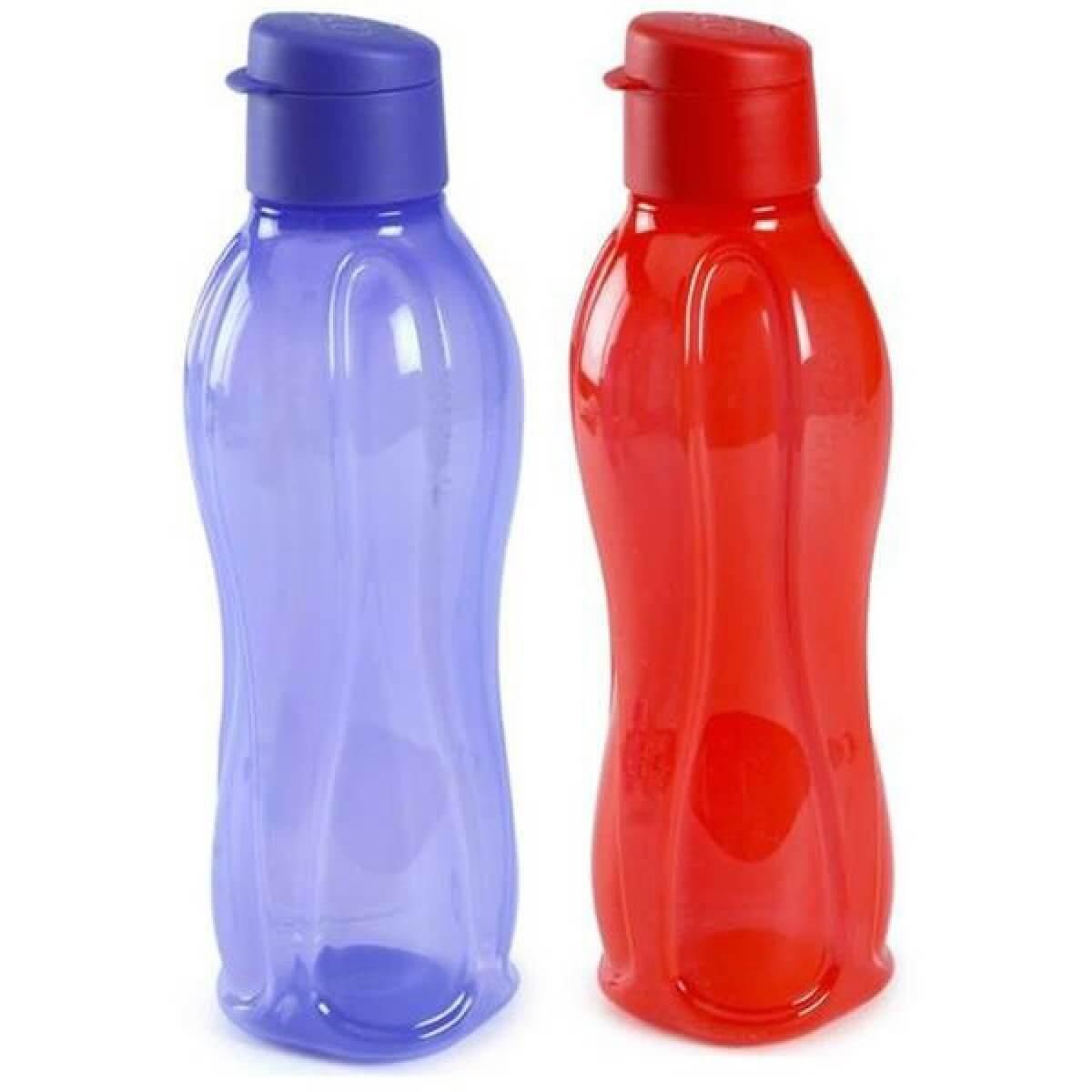 Tupperware Aquasafe Sports Water Bottle TP-380-T750 (Flip Top 750ml, 2 Pcs)