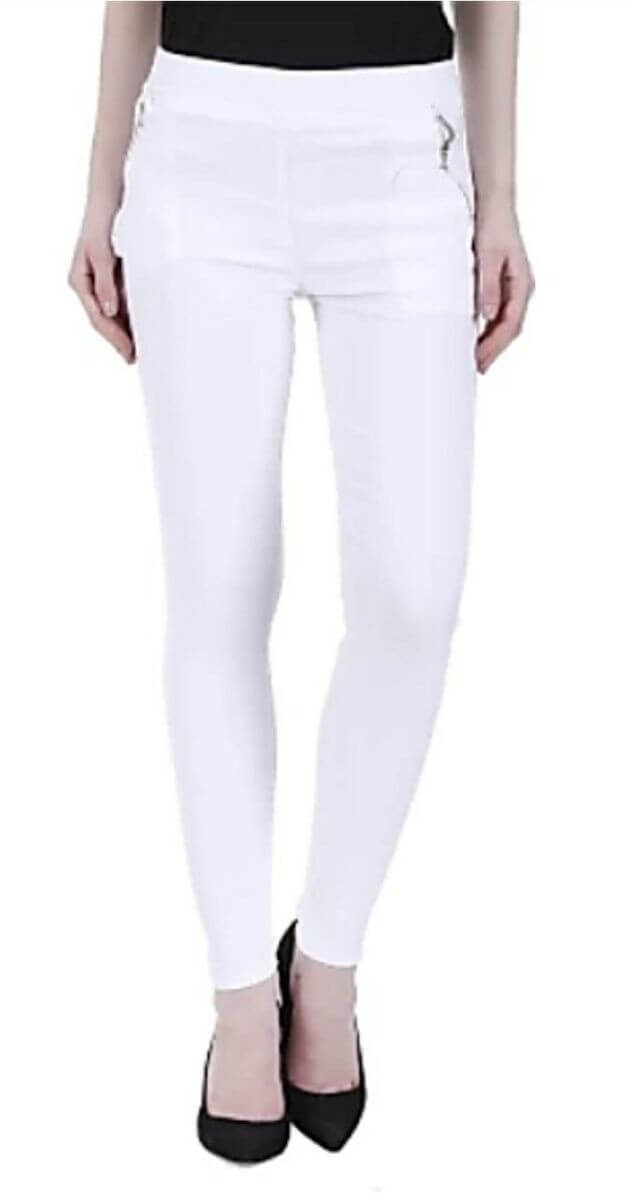 Cotton Solid Jegging