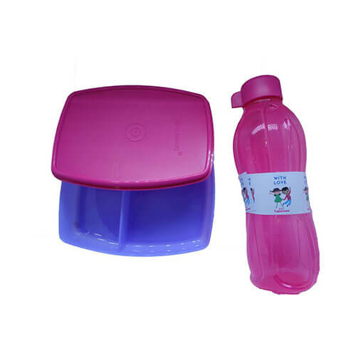 Tupperware Kids 2 Containers Lunch Box  (340 ml)