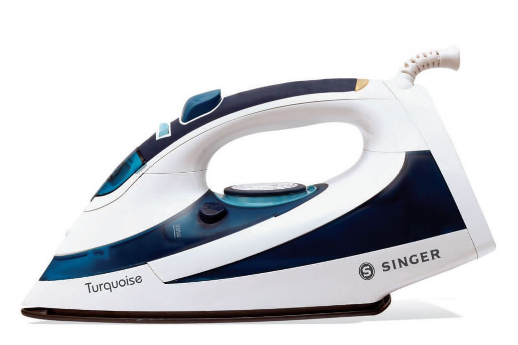 Singer Turquoise 1600 Watts Steam Iron