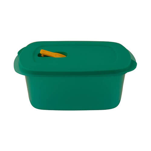 Tupperware Crestal Way - 1700 ml Plastic Multi-purpose Storage Container Green