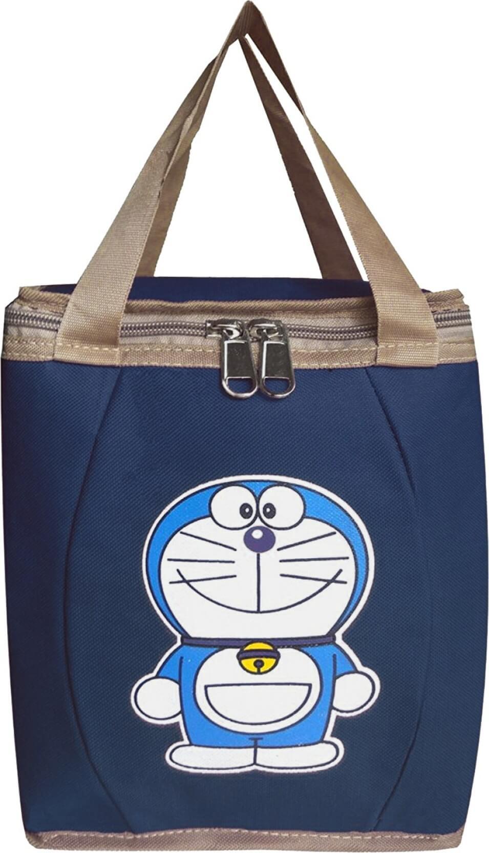 Right Choice Lunch Bag(Doremon, Dark Blue, 10 inch)