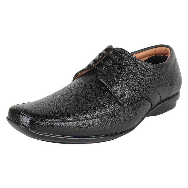 Firemark Brand Genuine Leather Pu Men Formal Shoes