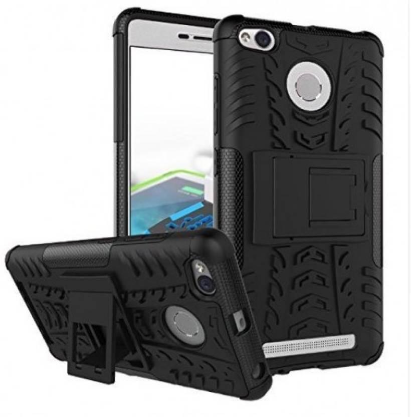 Nutricase Back Cover for Lenovo k5 Plus (Black, Shock Proof, Rubber)