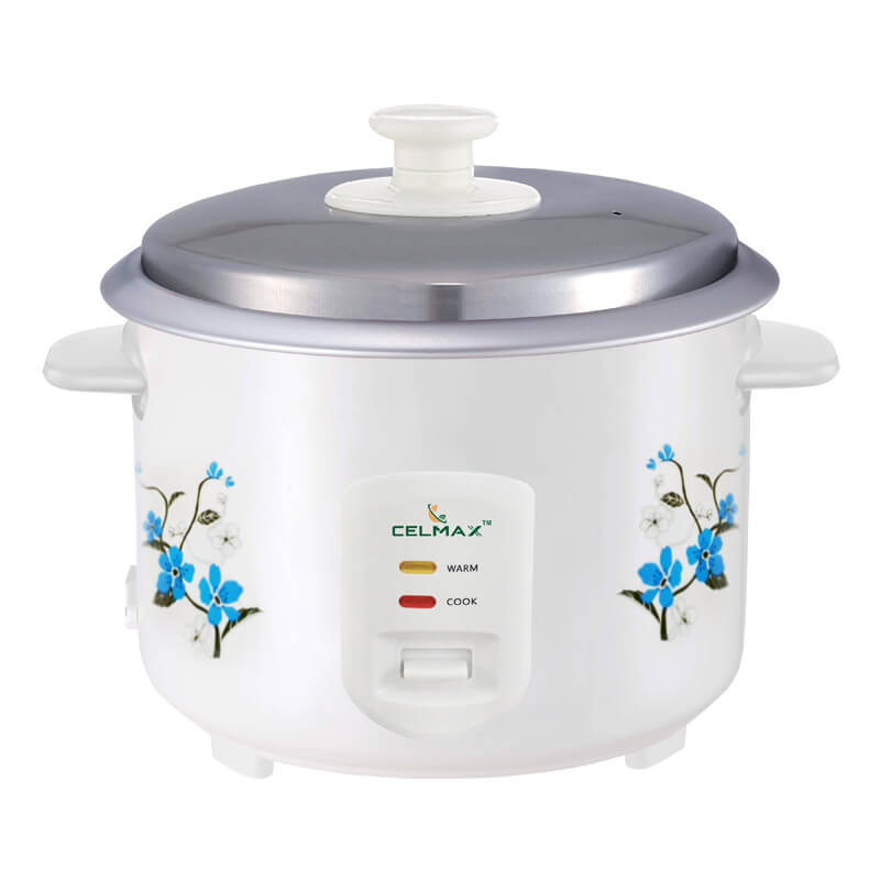 Celmax 350 Watt electric rice cooker 1.8 ltr